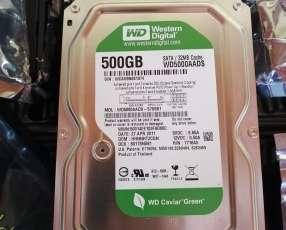 Disco duro Western de 500 gb