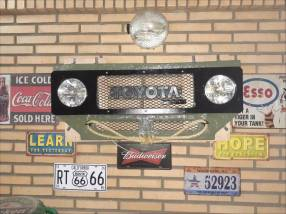 Frontal Toyota Bandeirante