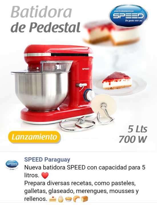 Batidora industrial Speed - 0