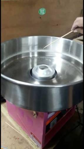 Fabricadora de algodón de azúcar