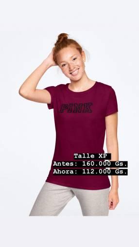 Remera original PINK talle P