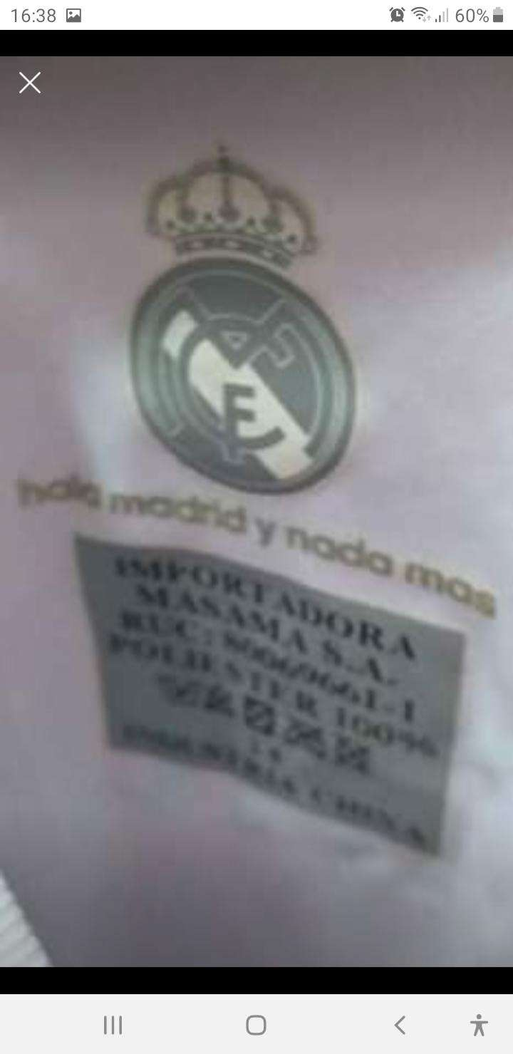 Camiseta del Real Madrid - 2