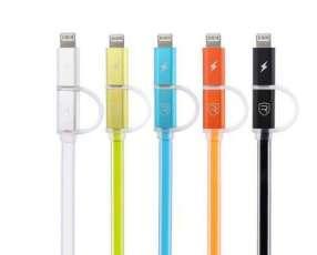 Cable 2 en 1