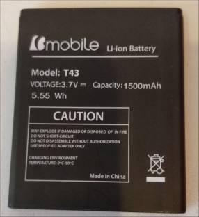 Batería para bmobile ax675. Cod. T43. Original / nueva