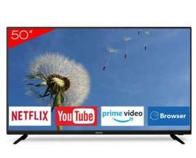 Smart tv 4k Aiwa 50 pulgadas con auricular de regalo