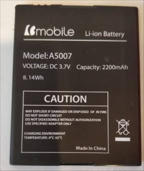 Bateria para bmobile ax1065. Cod. A5007. Original