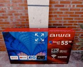Smart TV Aiwa 55 pulgadas 4K
