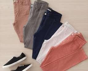 Pantalones Damas Elástizados