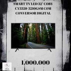Smart tv led Coby 32 pulgadas