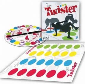 Juego twister con ruleta