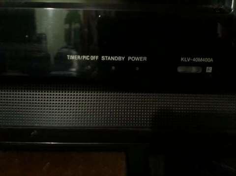 Televisor Smart Sony Bravia de 40 pulgadas