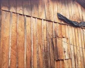 Galpón de madera 10x12