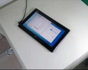 Tablet con lector huella dactilar i3 64 ssd m.2 4 gb ram