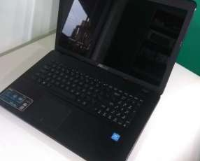 Notebook Asus 17 pulgadas Intel 8 gb ram 120 gb ssd
