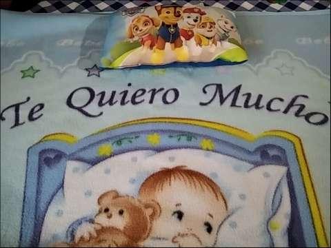 Frazada polar con almohada