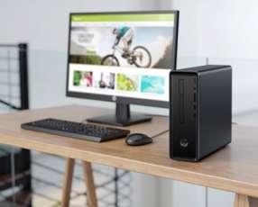 Pc HP Slimline Desktop 290 Intel Celeron G4900 4 gb ram 500 gb hdd
