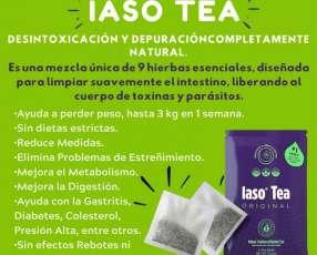 Desintóxicante iaso tea 100% organico