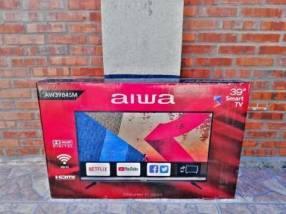 Smart tv Aiwa 39 pulgadas full HD 1080p