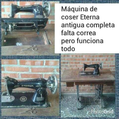 Maquina de coser entera o sólo máquina o sólo patas
