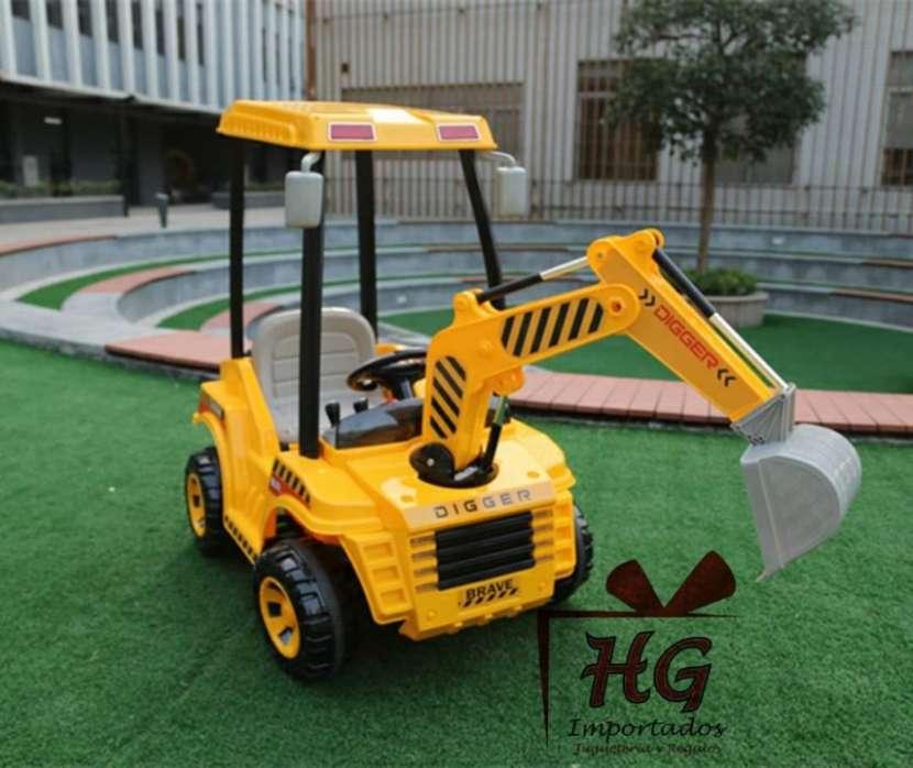 Tractor a Batería escavadora - 2