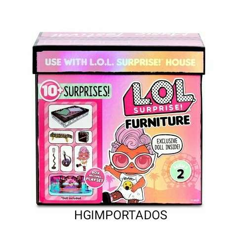 L.O.L surprise furniture meubles serie 2 - 1