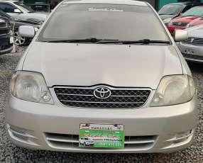 Toyota new corolla serie g 2002 automático naftero alarma