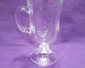 Taza para cafecito de vidrio