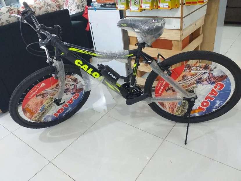 Bicicleta caloi new rider aro 26 - 1