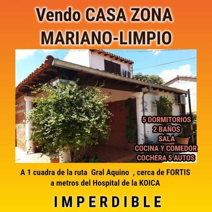 Casa de 2 plantas en Mariano limpio Zona Fortis - 0