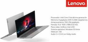Notebook Lenovo Ideapad i3 SSD 256 gb