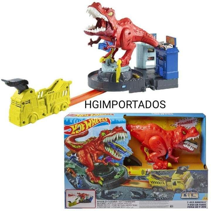 Hot Wheels Furia de T-Rex - 0