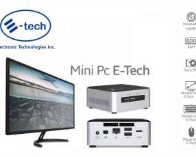 Mini PC E-tech. Adquirila