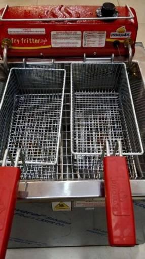 Freidora Progas de 13 litros eléctrica de 2 cestos
