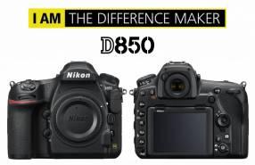 Cámara Nikon D850 Cuerpo