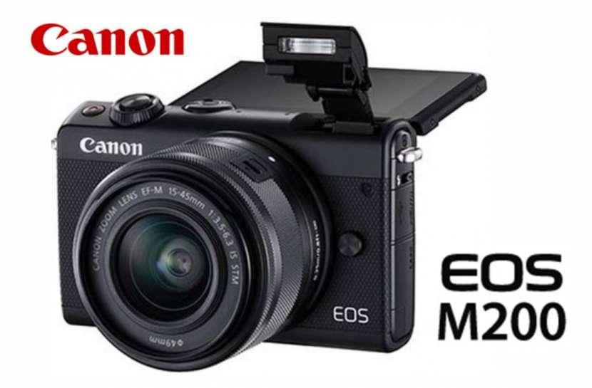 Cámara Canon EOS M200 Kit 15-45mm - 0