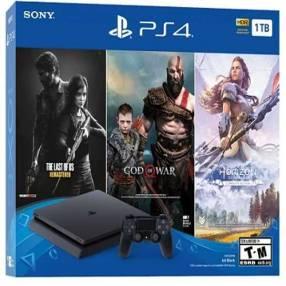 Sony PlayStation 4 Slim 1TB HDR 2215B con 3 juegos