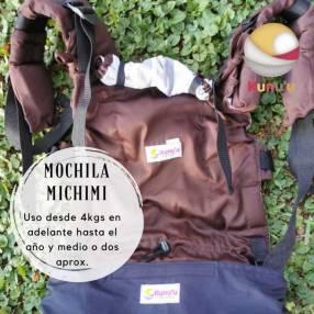 Portabebé mochila ergonómica Michimi marrón