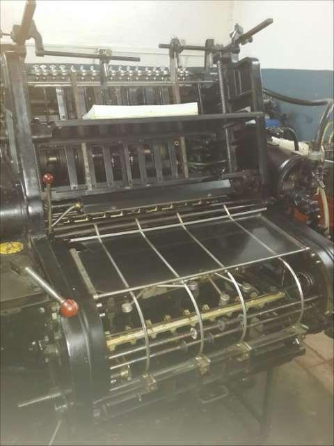 Máquina de imprenta