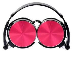 Auricular Aiwa AW-X107R con micrófono rojo