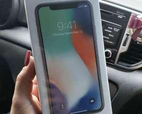 iPhone X de 64 gb sellado