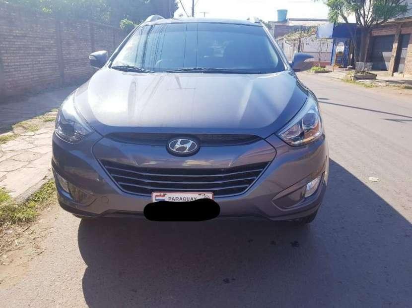 Hyundai Tucson 2015 motor turbo diésel automático 4x4 - 0