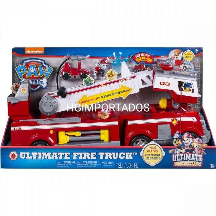 Ultimate fire truck Paw Patrol - 0
