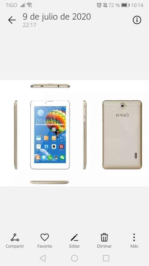 Tablet 7 pulgadas sim y wifi - 0