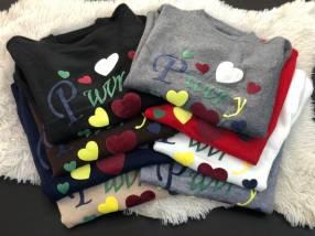 Suéter con diseños para dama
