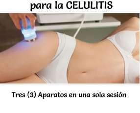 Vela three tratamiento para celulitis