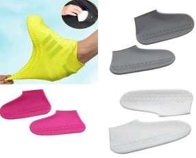 Cubre zapatos de silicona antideslizante