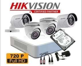Instalación y provisión de cámaras de seguridad