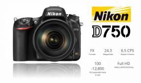 Cámara Nikon D750 Kit 24-120 mm