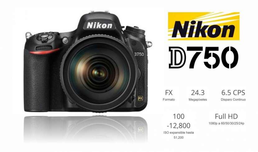 Cámara Nikon D750 Kit 24-120 mm - 0