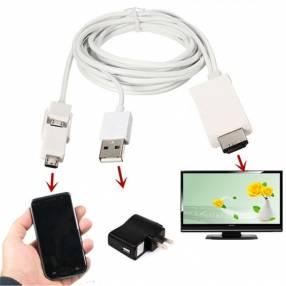 Micro USB 5/11pin para Celular enlace de alta definición